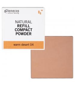 Nachfüller BIO-Kompaktpuder Warm desert 04 - 6g - Benecos it-pieces
