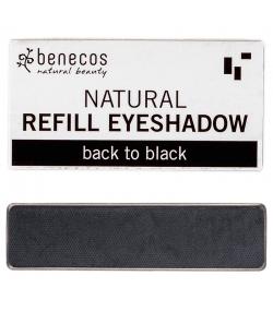 Nachfüller BIO-Lidschatten matt Back to black - 1,5g - Benecos it-pieces