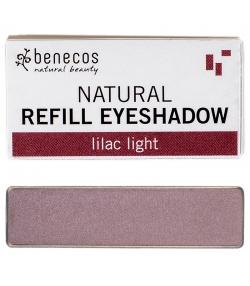 Recharge Ombre à paupières brillante BIO Lilac light - 1,5g - Benecos it-pieces