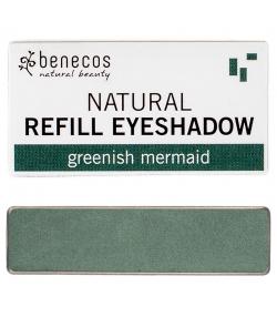 Nachfüller BIO-Lidschatten glänzend Greenish mermaid - 1,5g - Benecos it-pieces
