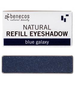 Recharge Ombre à paupières brillante BIO Blue galaxy - 1,5g - Benecos it-pieces