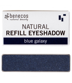 Nachfüller BIO-Lidschatten glänzend Blue galaxy - 1,5g - Benecos it-pieces