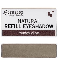 Nachfüller BIO-Lidschatten glänzend Muddy olive - 1,5g - Benecos it-pieces