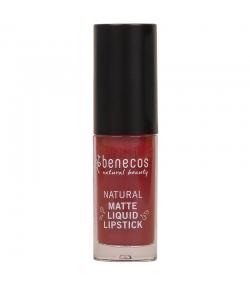 Flüssiger BIO-Lippenstift matt Bloody berry - 5ml - Benecos