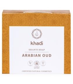 Natürliche Seife Arabian Oud Adlerholzbaum & Aktivkohle - 100g - Khadi Shanti