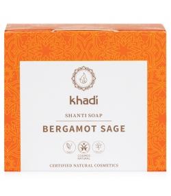 Savon naturel bergamote & sauge - 100g - Khadi Shanti