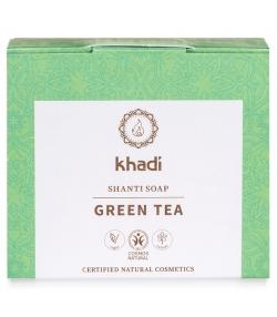 Natürliche Seife grüner Tee & Minze - 100g - Khadi Shanti
