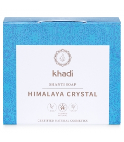 Savon naturel sel de l'Himalaya, cardamome & anis - 100g - Khadi Shanti