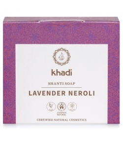 Natürliche Seife Lavendel & Neroli - 100g - Khadi Shanti