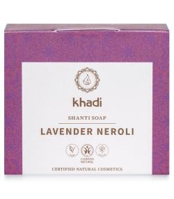 Savon naturel lavande & néroli - 100g - Khadi Shanti