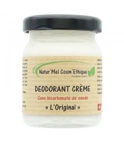 Déodorant crème sans bicarbonate L'Original naturel palmarosa, lavande & tea tree - 50ml - Natur'Mel Cosm'Ethique