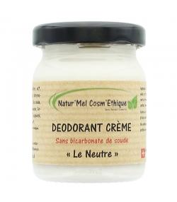 Déodorant crème sans bicarbonate Le Neutre naturel sans huile essentielle - 50ml - Natur'Mel Cosm'Ethique