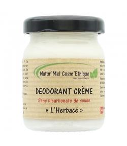 Déodorant crème sans bicarbonate L'Herbacé naturel romarin, sauge sclarée & menthe verte - 50ml - Natur'Mel Cosm'Ethique
