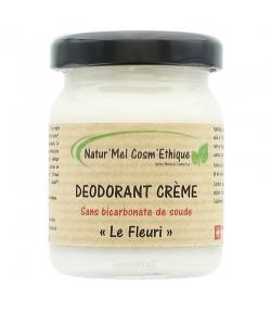 Natürliche Deocreme ohne Bicarbonat Le Fleuri Palmarosa, Lavandin & Geranium - 50ml - Natur'Mel Cosm'Ethique