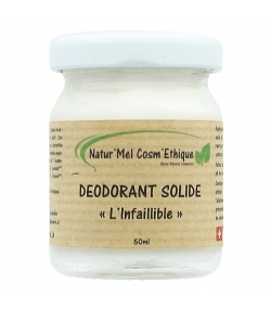 Déodorant baume L'Infaillible naturel menthe, lavande & tea tree - 50ml - Natur'Mel Cosm'Ethique