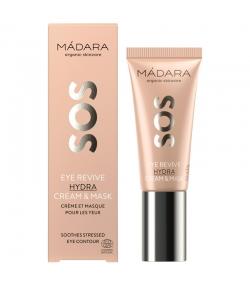 Crème & masque pour les yeux SOS naturel oméga-6 & acide hyaluronique - 20ml - Mádara