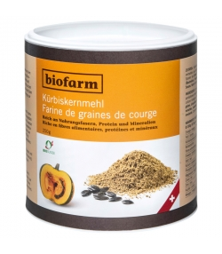 Farine de graines de courge BIO - 250g - Biofarm