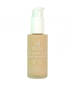 Flüssige BIO-Foundation N°01 Porzellan - 30ml - Boho Green Make-up