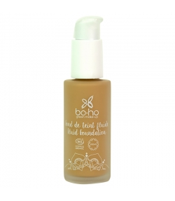 Fond de teint fluide BIO N°05 Miel - 30ml - Boho Green Make-up