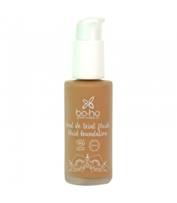 Fond de teint fluide BIO N°06 Caramel - 30ml - Boho Green Make-up