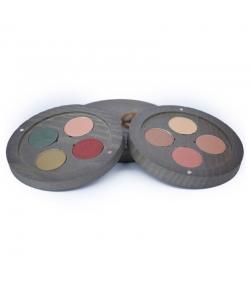 BIO-Lidschatten Palette Gypsy Travel - 8x1,8g - Boho Green Make-up