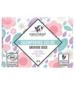 Shampooing solide cheveux secs BIO jojoba & aloe vera - 85g - Cosmo Naturel