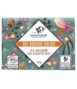 Gel douche solide BIO beurre de karité - 85g - Cosmo Naturel