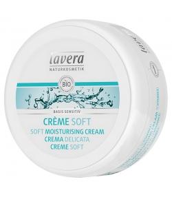 BIO-Creme Soft für Körper, Gesicht, Hände & Füsse Jojoba & Aloe Vera - 150ml - Lavera Basis Sensitiv