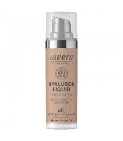 BIO-Make-up Liquid Hyaluron N°04 Honey Beige - 30ml - Lavera