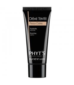 Crème teintée BIO peaux claires - 40g - Phyt's Organic Make-Up