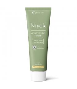 Dentifrice naturel menthe poivrée & citron sans fluor - 75ml - Niyok