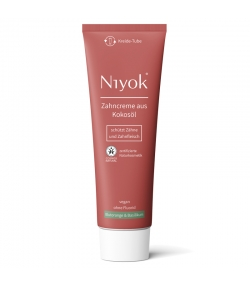 Dentifrice naturel orange sanguine & basilic sans fluor - 75ml - Niyok