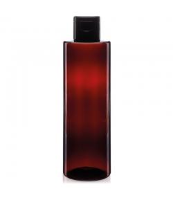 Braune RPET-Kunststoff-Flasche 200ml mit Verschluss - 1 Stück - Farfalla