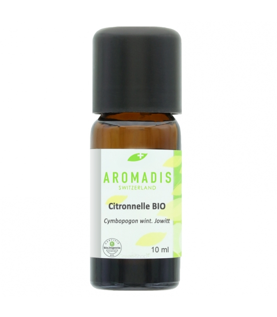 Huile essentielle BIO Citronnelle - 10ml - Aromadis