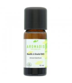 Huile essentielle BIO Basilic à linalol - 10ml - Aromadis