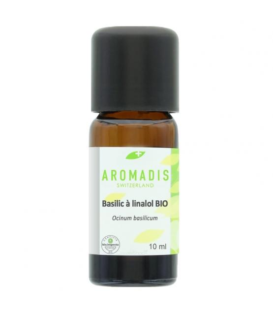 Ätherisches BIO-Öl Basilikum Linalol - 10ml - Aromadis
