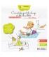 Ökologisches Kit Eco Test Baby - 1 quadratisches Babytüchlein , 1 Windelhandschuh & 1 Waschlappen - Les Tendances d'Emma