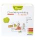 Ökologisches Kit Eco Chou Baumwolle- 10 Babytüchlein, 10 Windelhandschuhe, Schachtel & Wäschenetz - Les Tendances d'Emma