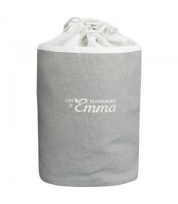 Kit Eco Belle Trousse Bambou Couleur écologique - 15 carrés démaquillants, trousse & filet de lavage - Les Tendances d'Emma