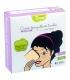 Ökologische waschbare quadratische Abschminkpads aus farbigem Bambus - 10 Stück - Les Tendances d'Emma