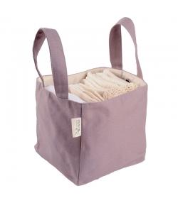 Kit à langer Nomade écologique - 1 serviette à langer, 5 carrés bébé, 5 gants de change & 5 lingettes - Les Tendances d'Emma