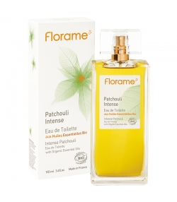 Eau de toilette BIO Patchouli Intense - 100ml - Florame