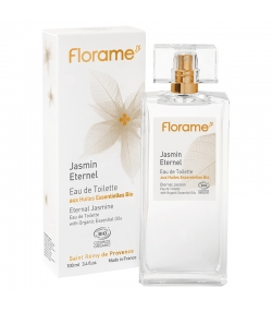 BIO-Eau de Toilette Jasmin Eternel - 100ml - Florame
