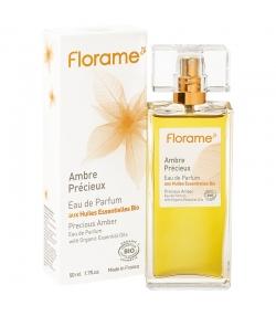 Eau de parfum BIO Ambre Précieux - 50ml - Florame