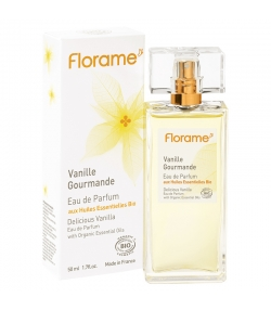 BIO-Eau de Parfum Vanille Gourmande - 50ml - Florame