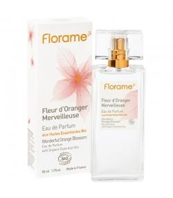 Eau de parfum BIO Fleur d'Oranger Merveilleuse - 50ml - Florame