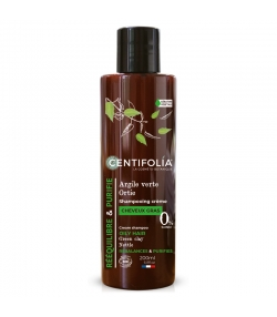 BIO-Cremeshampoo fettiges Haar grüne Tonerde & Brennnessel - 200ml - Centifolia
