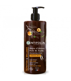 BIO-Cremeshampoo trockenes Haar Aprikose & Jojoba - 500ml - Centifolia
