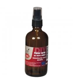 Flacon spray en verre ambré 100ml - 1 pièce - La droguerie écologique