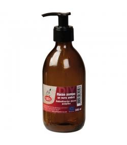 Pumpfklakon aus Braunglas 300ml - 1 Stück - La droguerie écologique